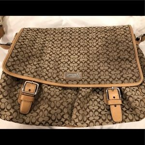 Coach Large Messenger Bag